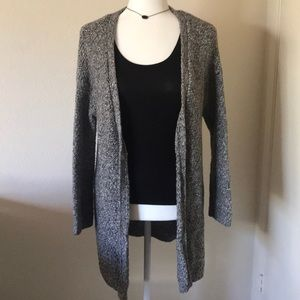 Merona grey glitter knitted cardigan